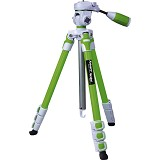 FOTOPRO Camera Tripod [S3] - Green - Tripod Combo With Head